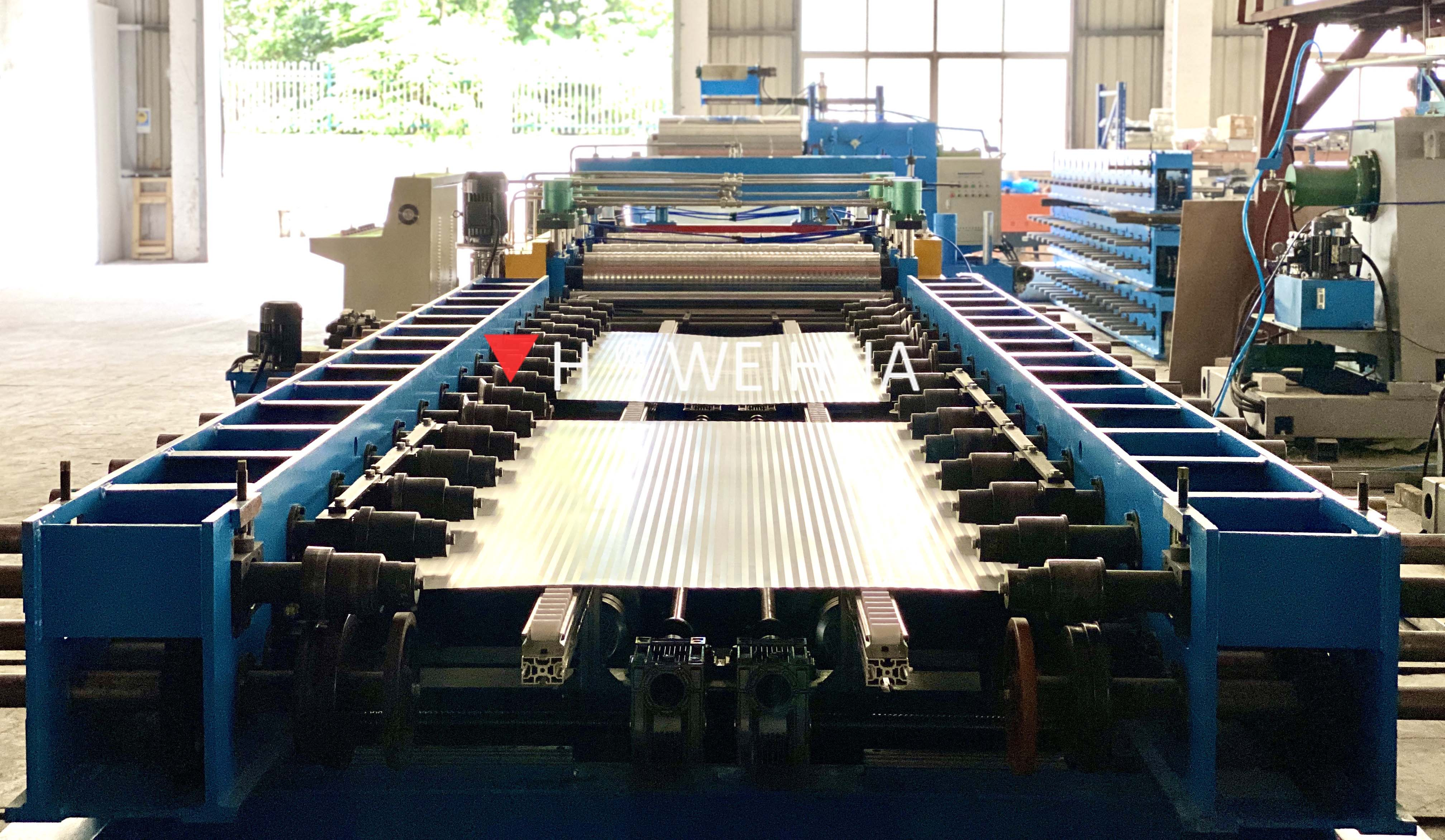Roll Forming Machine of Discontinuous Production Line