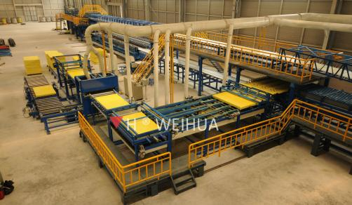 Continuous Rock Wool Sandwich Panel Line