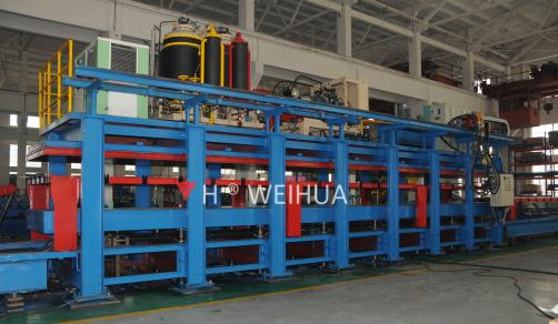 Discontinuous Sandwich Panel Production Iine